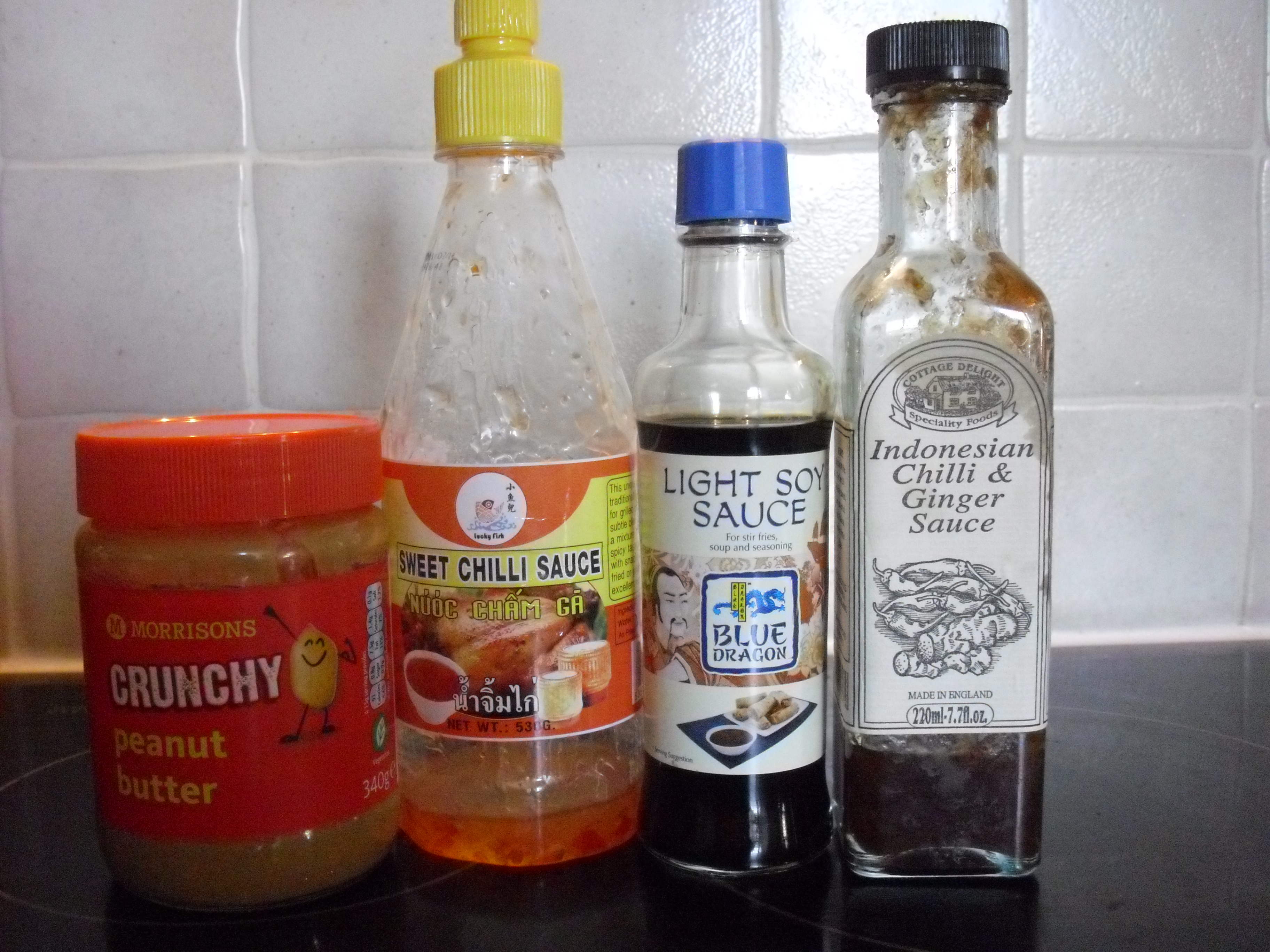 how to make satay chicken ingredients