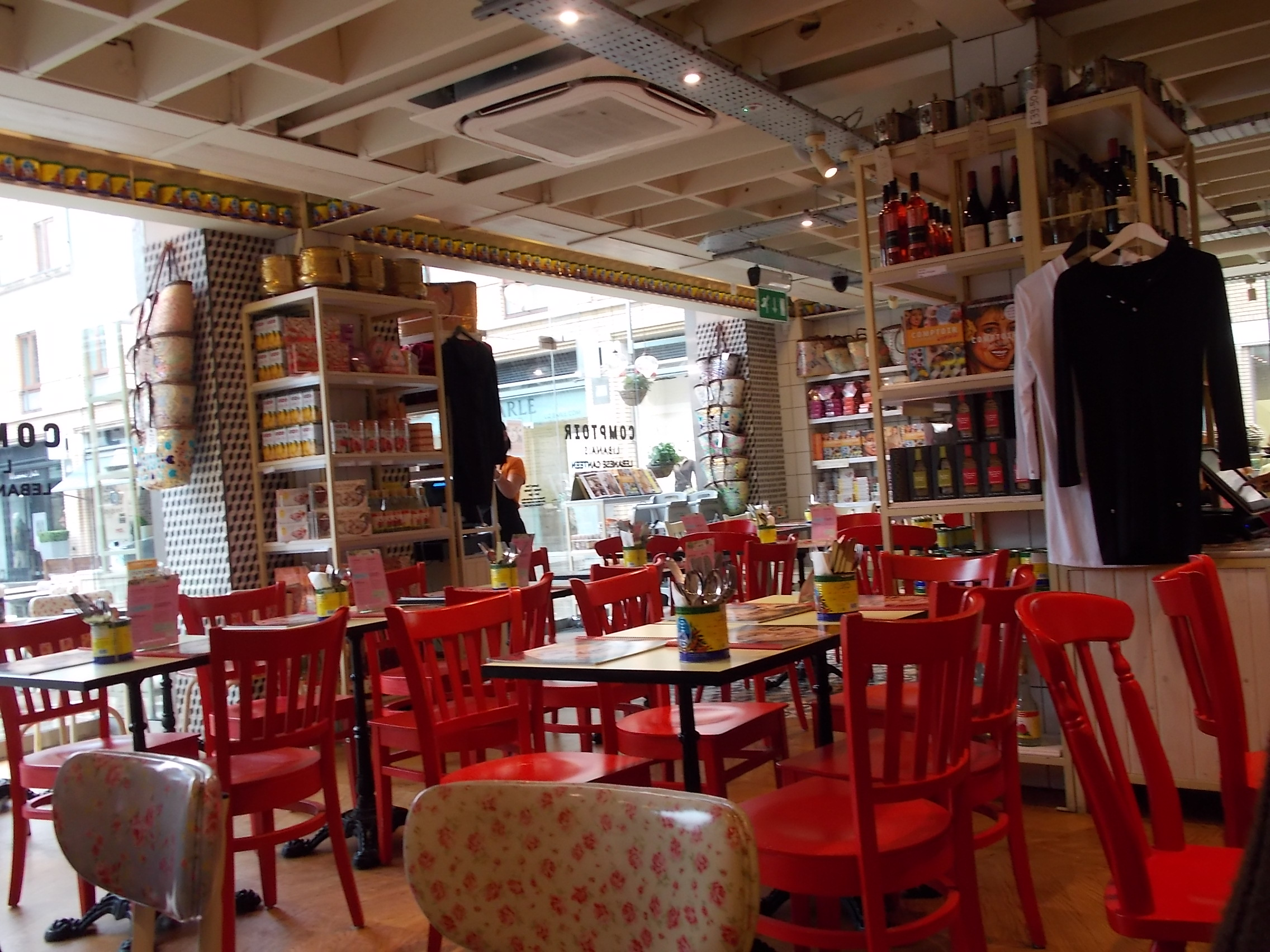 Restaurant review comptoir libanais duke of york square - Comptoir restaurant london ...