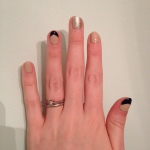 This Week's Nails – New Chevron Nail Tips